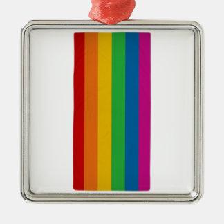 LGBT pride Metal Ornament