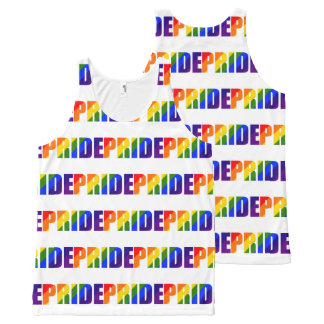 LGBT Pride Rainbow All-Over Print Tank Top