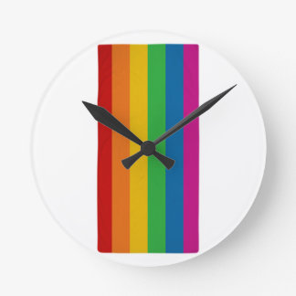 LGBT pride Round Clock