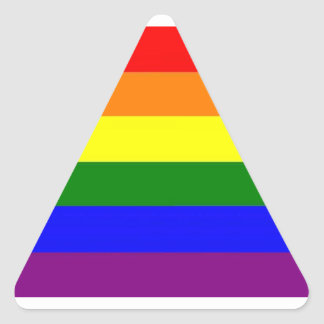 LGBT Pride Triangle Sticker