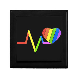 LGBT Pulse Orlando Tribute #LoveWins Small Square Gift Box