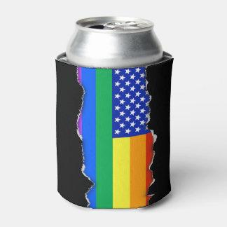 LGBT Rainbow American Flag