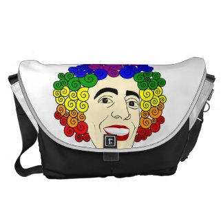 LGBT Rainbow Hair Messenger Bags