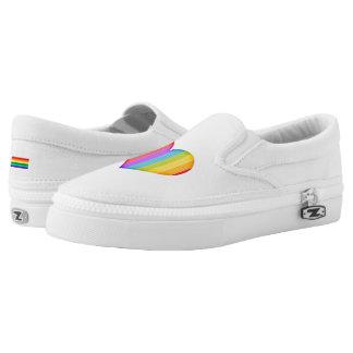 LGBT Rainbow Heart Shoes