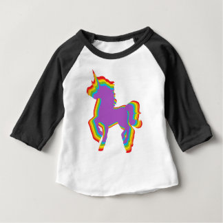 LGBT Rainbow Unicorn Baby T-Shirt