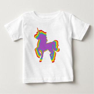 LGBT Rainbow Unicorn Baby T-Shirt