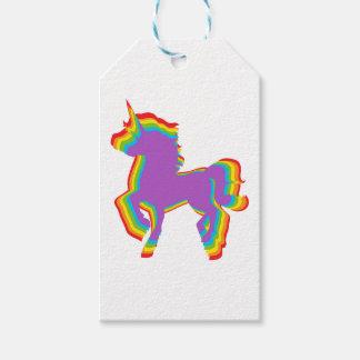 LGBT Rainbow Unicorn Gift Tags