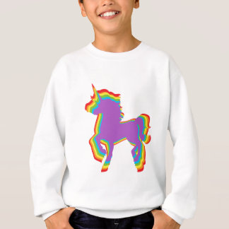 LGBT Rainbow Unicorn Sweatshirt