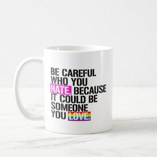 LGBT RESISTANCE COFFEE MUG