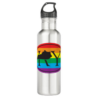 LGBT State Pride Euro: KY Kentucky 710 Ml Water Bottle