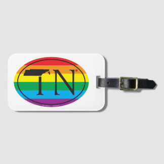 LGBT State Pride Euro: TN Tennesse Luggage Tag