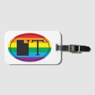 LGBT State Pride Euro: UT Utah Luggage Tag