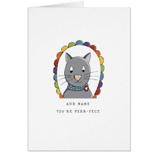 LGBT | Valentine's | Cat | Pride | Card