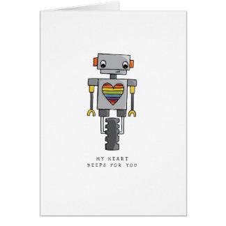 LGBT | Valentine's | Robot | Pride | Card