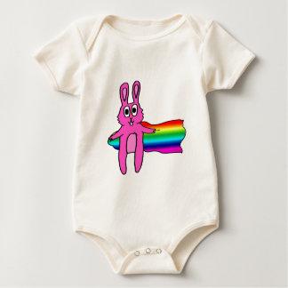 LGBTQ Bunny 2 Baby Bodysuit