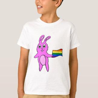 LGBTQ Bunny Rabbit Cute Hand-drawn T-Shirt