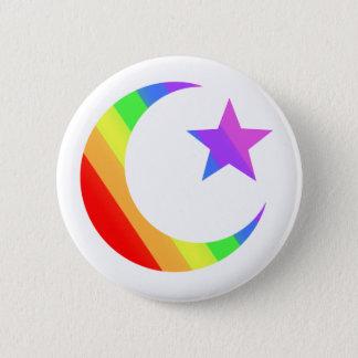 LGBTQ Muslim 6 Cm Round Badge
