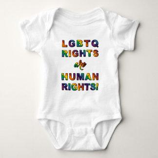 LGBTQ RIGHTS... BABY BODYSUIT