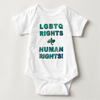 LGBTQ RIGHTS... BABY BODYSUIT