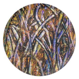 lgcarnivalglassgrasswithorangenmoldfungus plate