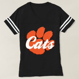 LGHS Wildcats Cats Paw Print Jersey Tee