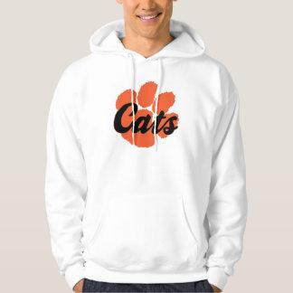 LGHS Wildcats Pawprint White Sweatshirt