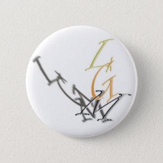 LGM swipes in 6 Cm Round Badge