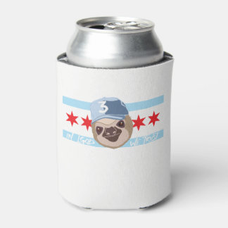 LGOD Chicago Sloth Can Cooler
