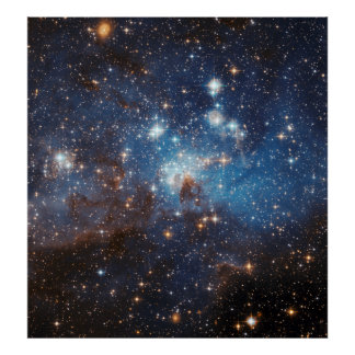 LH 95 in the Large Magellanic Cloud Poster