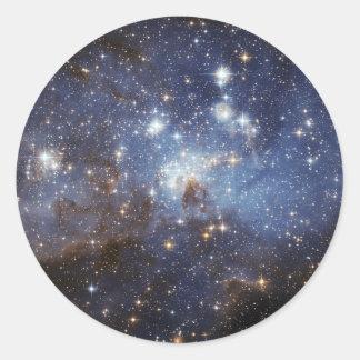 LH 95 Star forming region NASA Classic Round Sticker