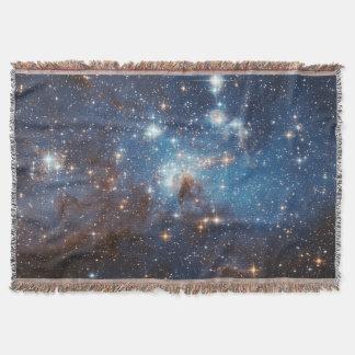 LH 95 Star forming region NASA Throw Blanket