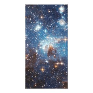 LH 95 stellar nursery space photography Personalised Photo Card