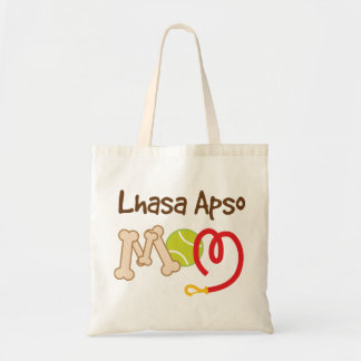 Lhasa Apso Dog Breed Mom Gift Tote Bag