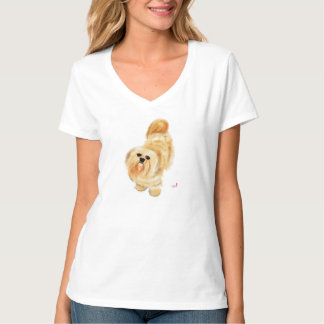 Lhasa Apso Dog T-Shirt