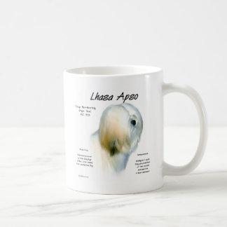 Lhasa Apso History Design Coffee Mug