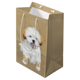 Lhasa Apso Medium Gift Bag