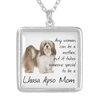 Lhasa Apso Mom Necklace