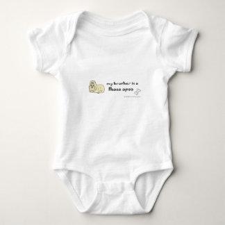 lhasa apso -more breeds baby bodysuit