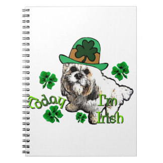 Lhasa Apso St Patricks Notebooks