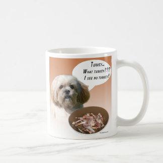 Lhasa Apso Turkey Coffee Mug