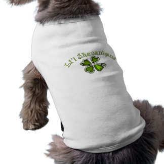 Li'l Shenanigans A Weird Party Shamrock Cartoonifi Doggie Shirt