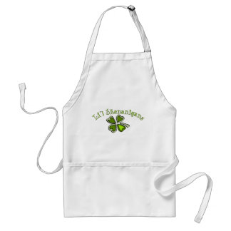 Li'l Shenanigans A Weird Party Shamrock Cartoonifi Standard Apron