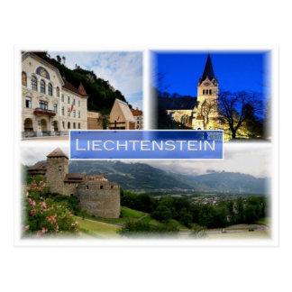 LI Liechtenstein - Postcard