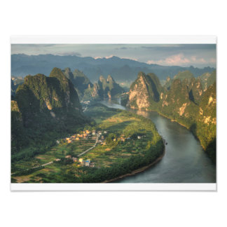 Li river photo print