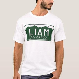 LIAM Colorado License Plate T-Shirt