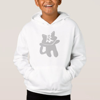 LIANG CAT WHITE SWEATSHIRT