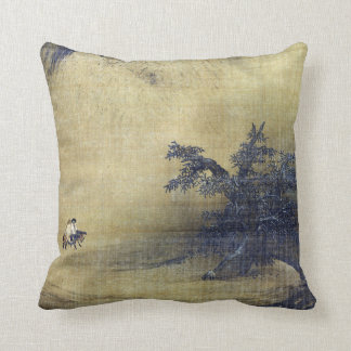 Liang Kai Snowy Scenery Cushion