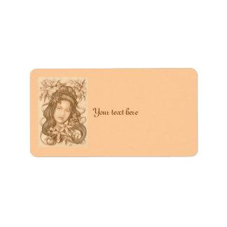 Lianna Address Label