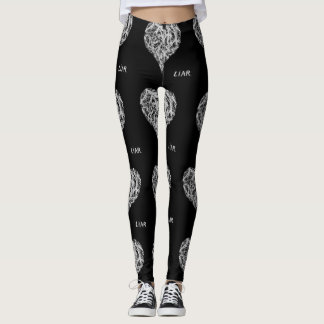 Liar Leggings, Black Leggings