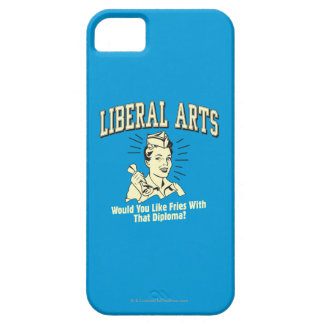 Liberal Arts: Like Fries With Diploma iPhone 5 Case